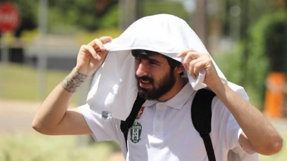 Jogadores enfrentaram o forte verão brasileiro como puderam