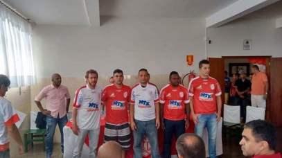 Fábio Simplício, André Cunha e Flávio no Batatais