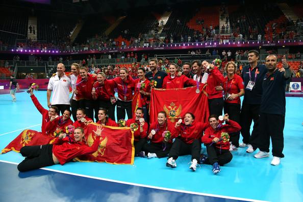 Montenegrinas deram lição de humildade e celebraram muito a medalha de prata
