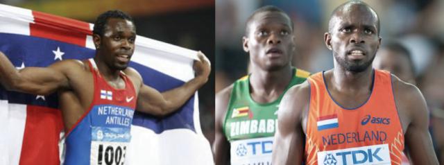 Churandy Martina: o grande atleta da história das Antilhas Holandesas hoje defende a Holanda