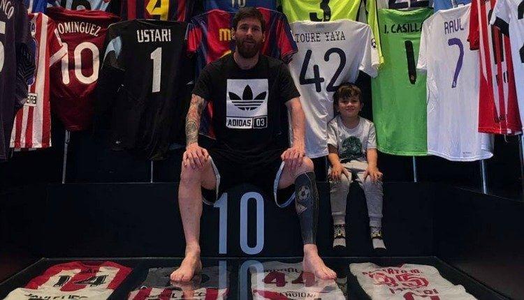 0a679c22fec2b Conheça histórias escondidas na coleção de camisas de Messi