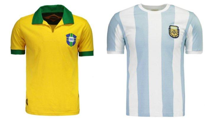 Brasil Argentina retrô
