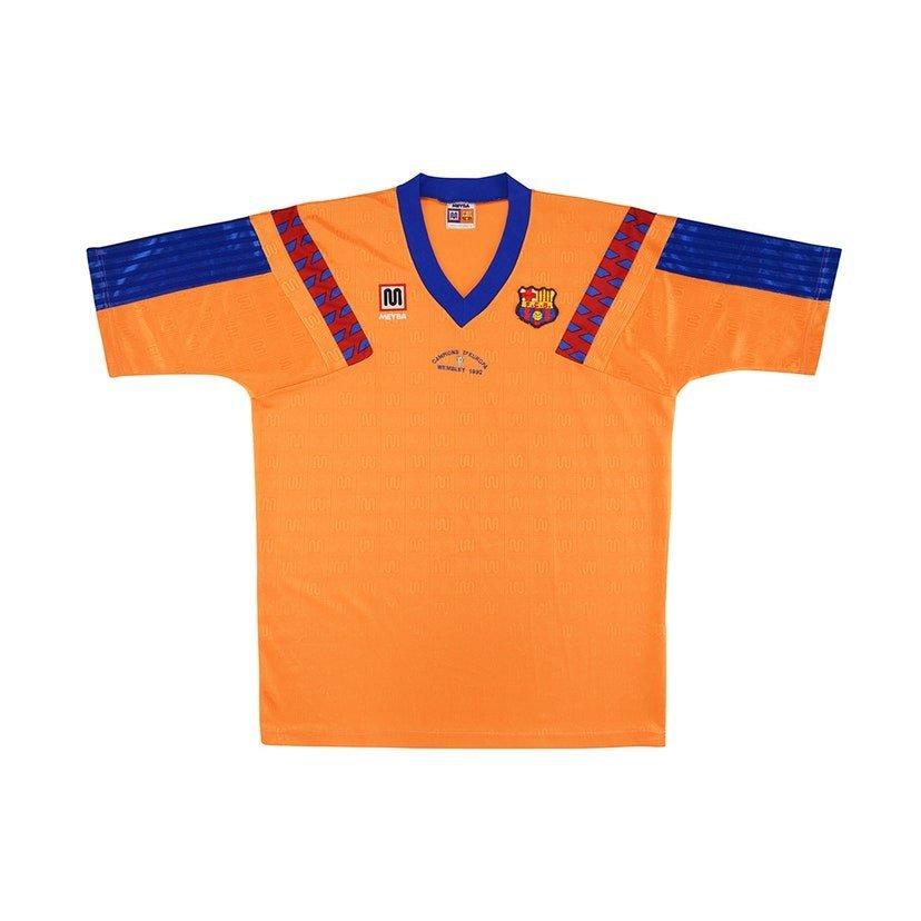 Barcelona (camisa reserva, temporada 1991/1992): 599,99 libras (R$ 3932,15)