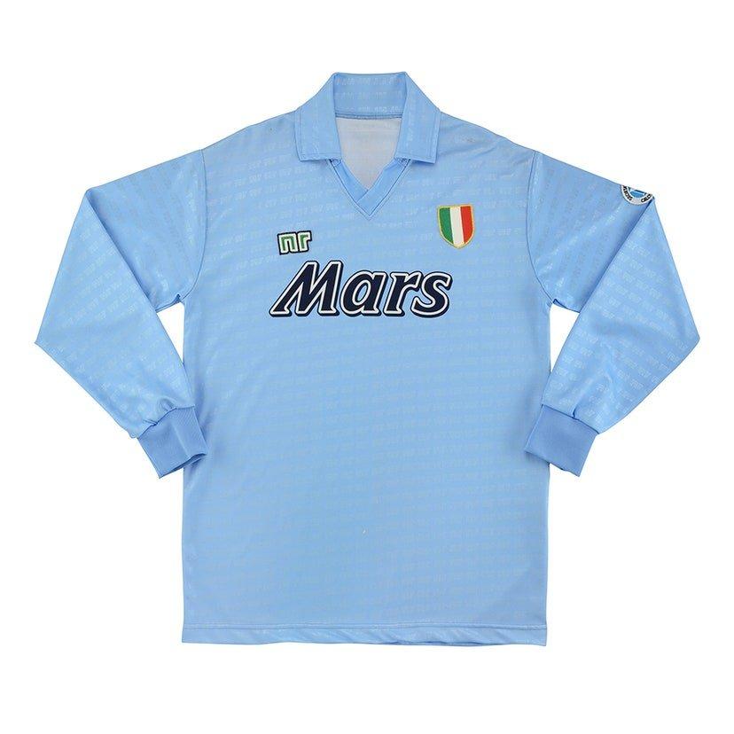 Napoli (camisa titular, temporada 1990/1991): 499,99 libras (R$ 3276,78)