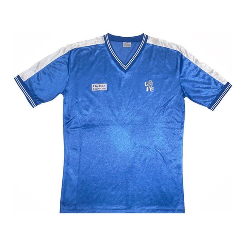 Chelsea (camisa titular, da temporada 1986/1987): 349,99 libras (R$ 2293,73)
