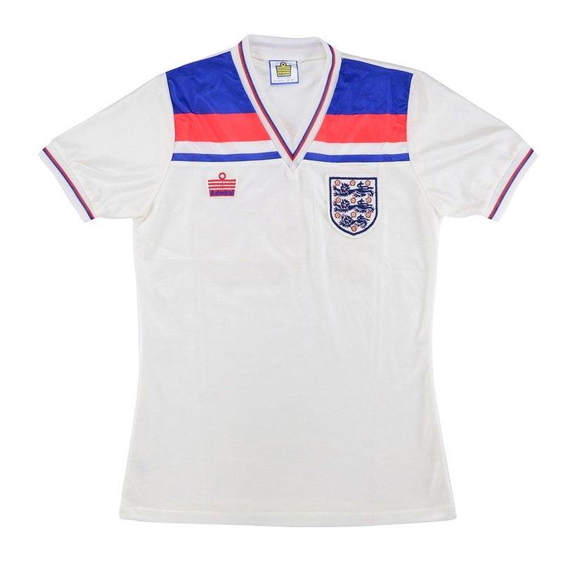 Inglaterra (camisa titular, de 1982): 299,99 libras (R$ 1966,04)