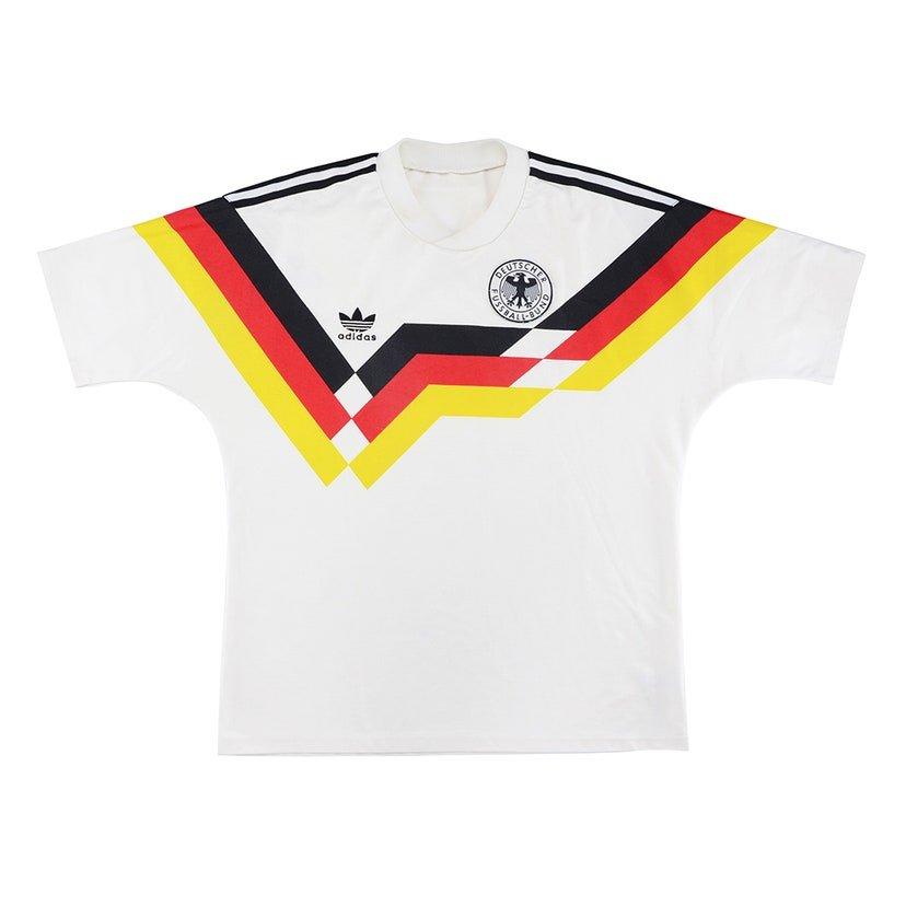 Alemanha (camisa titular, de 1988 a 1990): 199,99 libras (R$ 1310,67)