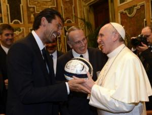 buffon Pope_Franc