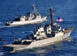 navi usa siria