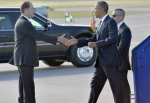 Obama in svezia