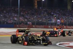 Formula One World Championship, Rd14, Singapore Grand Prix, Race, Marina Bay Street Circuit, Singapore, Sunday 23 September 2012.