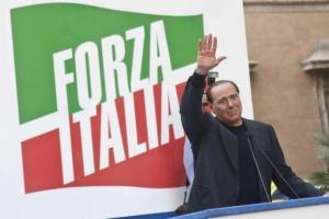 Berlusconi a Roma il 4 Agosto