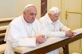 Francesco e Benedetto in preghiera