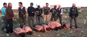 Siria:Nyt apre con foto esecuzione lealisti da parte ribelli