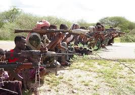 Guerriglieri in Africa