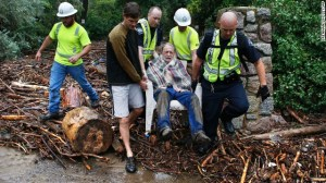 Anziano tratto in salvo