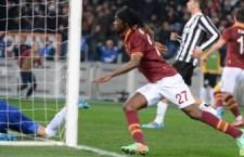 Roma semifinalista di Coppa Italia. Juventus battuta all'80 esimo con strepitoso gol di Gervinho