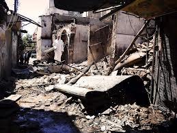 distruzioni homs