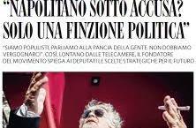 """Primo caso nella storia repubblicana. Arriva """"l'impeachment"""" grillino per Giorgio Napolitano. Un atto d'accusa """"politico"""", scarsamente sostenibile sotto il profilo giuridico."""