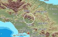 Terremoto 4.2 scala Richter nei Matese, tra Caserta, Benevento e Campobasso. Chiuse le scuole