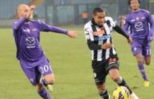 Udinese con il 2 a 1 del Friuli supera la Fiorentina nell'andata della prima semifinale di Coppa Italia