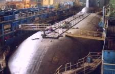 Incendio su sottomarino russo in un cantiere dell'Artico