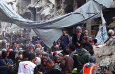 """18 mila palestinesi rischiano la vita al sud di Damasco. Deve essere aperto un """"corridoio umanitario"""""""