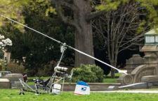 Caos a Washington: un mini elicottero atterra davanti al Campidoglio