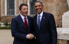 Renzi va da Obama che chiede un progresso sui rapporti economici con l'Europa