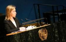 La Mogherini cerca aiuto all'Onu anche per risolvere le fratture tra europei