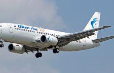 Boeing  costretto al rientro a Torino per l'esplosione di una gomma del carrello