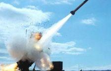 Missile yemenita intercettato e distrutto da batteria Patriot dell'Arabia Saudita