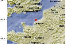 Insolito terremoto sulla costa francese del Canale della Manica