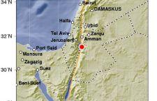 Terremoto nel Mar Morto al confine tra Israele e Giordania