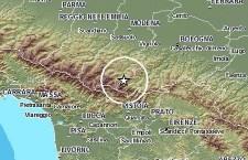 Terremoto tra Bologna e Pistoia avvertito in una larga area. Nella stessa zona sciame sismico ad aprile