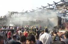 Baghdad: 59 morti e 200 feriti per un camion imbottito di esplosivo fatto saltare in un mercato