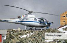 Precipitato un elicottero in Valtellina. Riforniva i rifugi in alta montagna. Il brutto tempo ostacola le ricerche