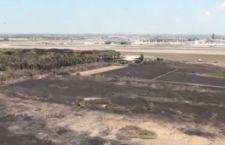 Nuovo incendio vicino l'aeroporto di Fiumicino. Da chiedersi se non ci sia un piano sotto