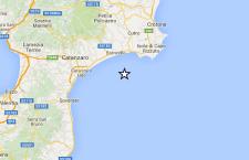 Scossa di terremoto sulla costa ionica della Calabria. Nessun danno