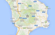 Calabria: serie di scosse. La più forte sulla Sila, con intensità 4.0