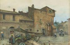 Ettore Roesler Franz l'artista che diventa testimone della Roma del suo tempo e dello scempio che verrà