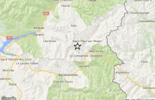 Terremoto sulle Alpi, al confine tra Francia e Italia