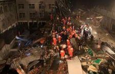 Cina: crollo provoca morte di 17 operai. Palazzo in ristrutturazione