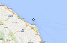 Terremoto in mare di fronte ad Ancona