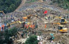 Enorme frana uccide 21 persone nell'est della Cina. 16 dispersi