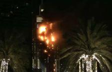 Dubai: incendio vicino al più alto grattacielo del mondo