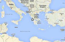 Forte terremoto in Grecia sul Mare Ionio. Numerose scosse in tutto il paese ellenico