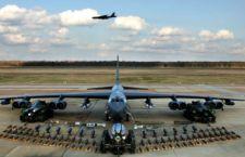 B- 52 Usa con armi atomiche vola sulla Corea del Sud in risposta a quella del Nord