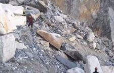Carrara: ritrovati i corpi dei due cavatori travolti da frana di marmo