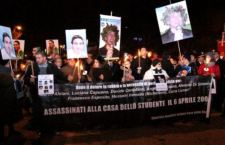L'Aquila ricorda i suoi 309 morti e chiede giustizia